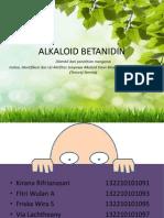 Alkaloid Betanidine