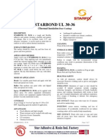 STARBOND UL-30-36 Waterproofing Coat