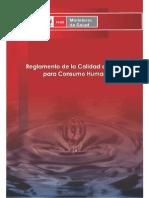 Requisitos de Calidad de Agua y Sanciones