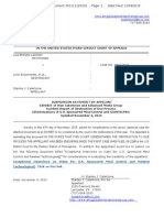 Recorded Third Circuit Lambert Appeal UPDATED SUBMISSION Statement as an EXHIBIT Re Incendent Reports of Obstruction of Due Process November 4, 2015