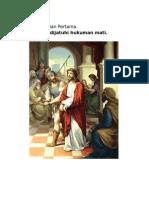 Gambar Perhentian Jalan Salib Suci