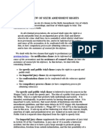 overview of sixth amendment rights
