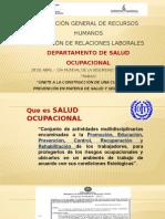Charla Explicativa - Salud Ocupacional Paraguay 2015