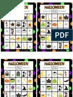 Bingo about Halloween