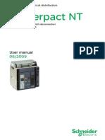 Masterpact NT User Manual