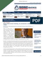 2015 10 26   Kongnews.it   Corso Crespi