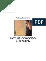 Hoy He Conocido a Alguien Busquets, Milena