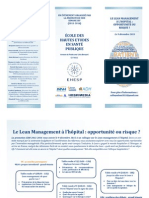 Colloque Lean - Programme