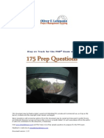 175 PMP Exam Sample Questions