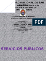 Servicios Publicos Municipales