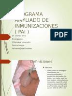 Programa Ampliado de Inmunizaciones Pai Res