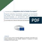 Parlamento Europeo Programa EscEmbajadora