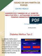 Charla sobre diabetes tipo 1 y tipo 2