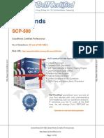 SCP 500 Demo