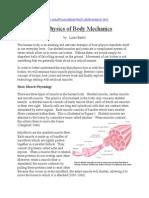 The Physic Body Mechanics