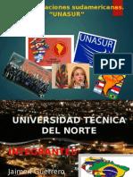 Exposicion de La Unasur; Guerrero, Ortiz, Alomía