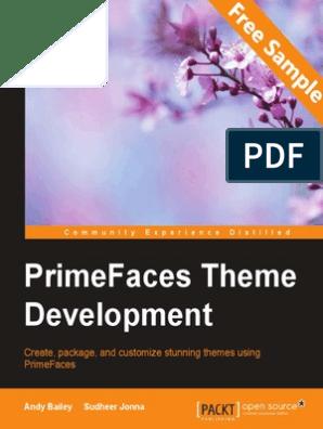 PrimeFaces Theme Development - Sample Chapter | Java Server