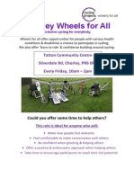 WFA Volunteer Poster