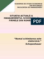 Curs 1- Managementul Schimbarii