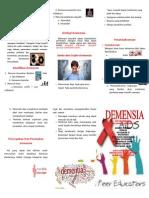 Leaflet Demensia