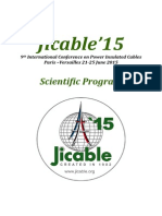 Jicable15 Programme