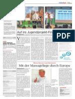 Volksblatt regionales Jugendprojekt