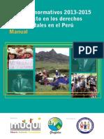 MANUAL. Paquetes Normativos 2013-2015 y su impacto en los derechos fundamentales en el Perú_0.pdf