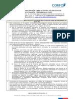 Requisitos Inscripcion Centros 25092013