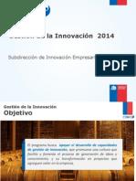PPT Informativa Gestión de La Innovación 2014 LEIDO.