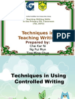 Controlled Writing