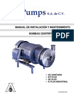 Manual de instalación Bomba QC 299083