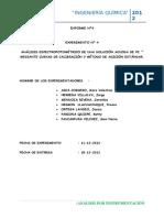 analisis colorimetrico de una solución acuosa de Fe(3+) ULTIMO