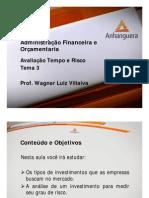VA Administracao Financeira e Orcamentaria Aula 3 Tema 3