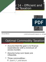 RosenChap014 Optimal Taxation 2