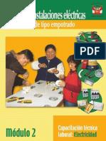 Manual de Instalaciones Electricas Domiciliarias - MINISTERIO de EDUCACION