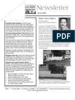 Echo Park Security Assn.  Newsletter Spring 08