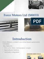 Force Motors Ltd (500033)