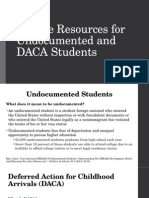 college resources for undocumented and daca students
