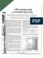 Predict Storage Tank Heat Transfer Precise Predictions