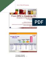 CPO Cooking Oil PH
