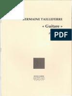 Germ Taille Ferre Guitare