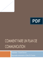 Comment Faire Un Plan de Communication Def