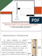 Unidad 3 Reacciones REDOX 4a Parte Titulaciones 1 a 1