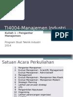 01 Pengantar Manajemen