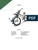 FinalReport-CycleMate