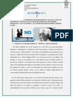 NO SOY UN ACULTURADO DE JOSE MARÍA ARGUEDAS Y LAS CULTURAS Y LA GLOBALIZACION DE MARIO VARGAS LLOSA.