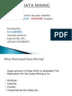 Data Mining Disaster