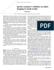 Research Study on Factors affecting on online shopping