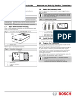 ISW-En1235 Pendant Panic Installation Manual