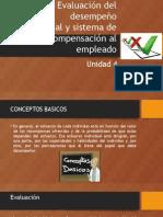 Evaluación Al Desempeño Relaciones Industriales